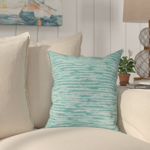 Hancock Marled Knit Geometric Print Throw Pillow by Breakwater Bay