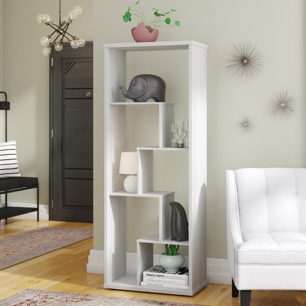 Bowdoin Geometric Bookcase by Latitude Run