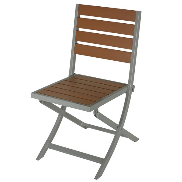 Dinesh Folding Patio Dining Chair by Latitude Run
