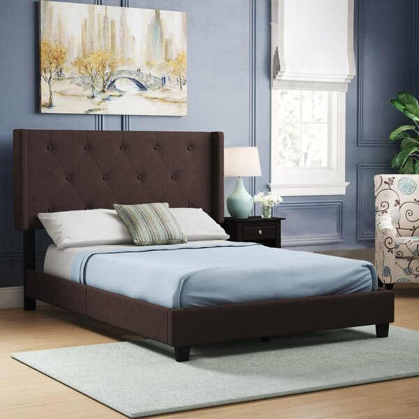 Gallaher Queen Upholstered Standard Bed by Three Posts