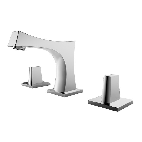 Angus Stainless Steel Widespread Bathroom Faucet by Avanities Avanities