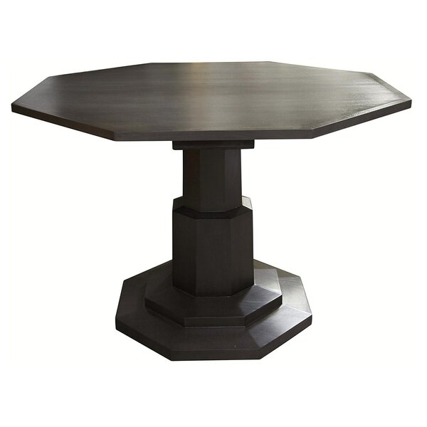 Octagon Solid Wood Dining Table by Noir Noir