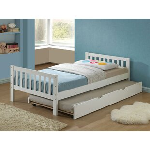 Stockholm Twin Panel Bed with Trundle By Mack & Milo