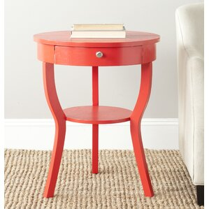 Enid End Table by August Grove