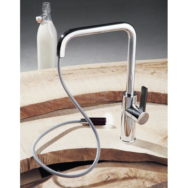 Luz Pull Out Single Handle Kitchen Faucet by Maestro Bath