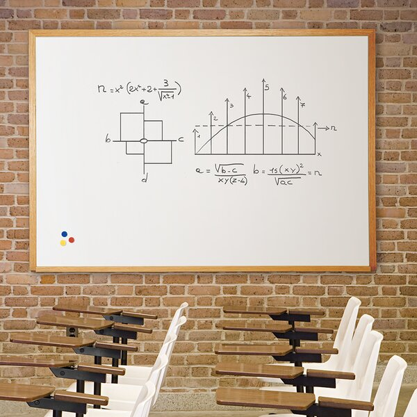 Magnetic Wall Mounted Whiteboard by Best-Rite®