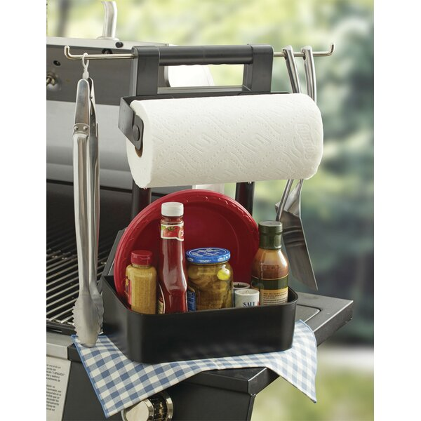 Freestanding Toilet Paper Holder with Handle