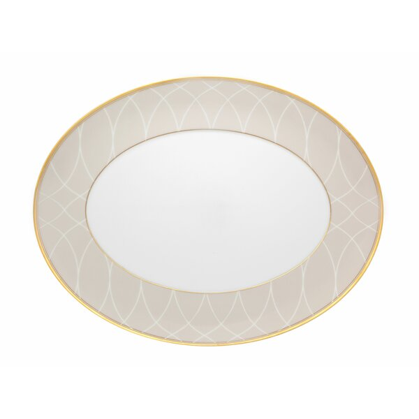Terrace Small Oval Platter by Vista Alegre