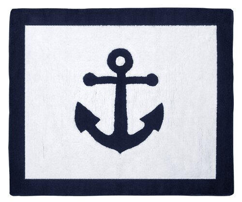 Anchors Away Area Rug by Sweet Jojo Designs