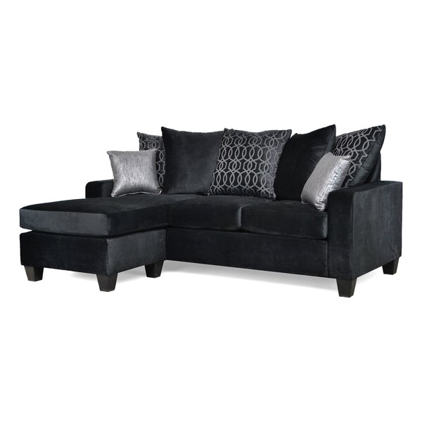 Rothermel Reversible Sectional With Ottoman By Red Barrel Studio