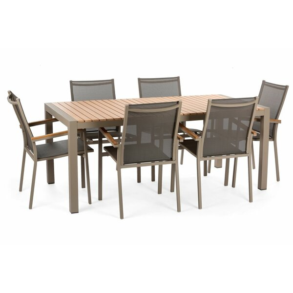 Samar 7 Piece Dining Set by Brayden Studio