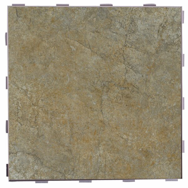 Classic ThinLine 12 x 12 Porcelain Field Tile in Paxton by SnapStone