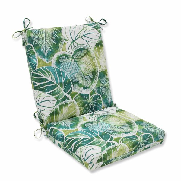 Key Cove Lagoon Indoor/Outdoor Dining Chair Cushion by Pillow Perfect