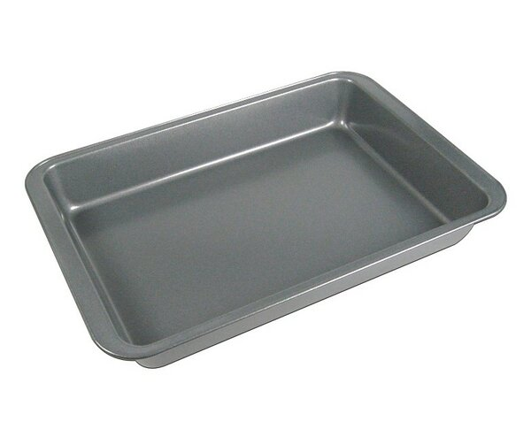 La Patisserie Non-Stick Rectangle Cake Pan (Set of 2) by MyCuisina