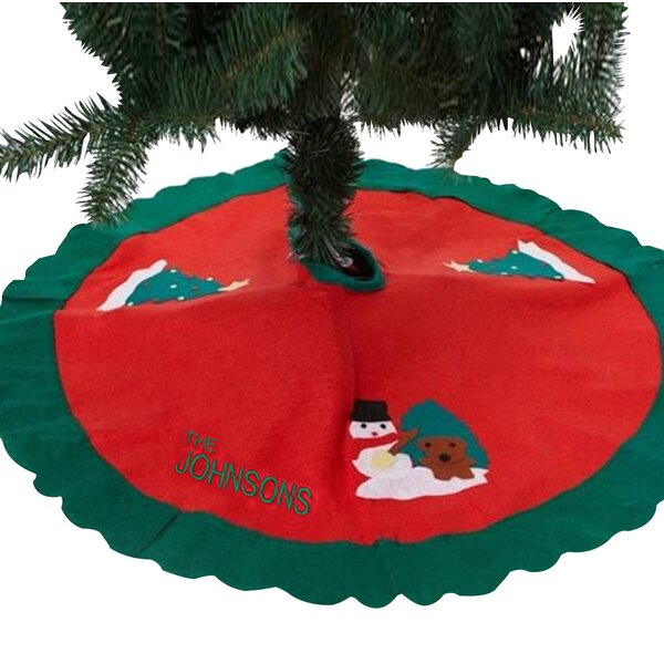 Personalized Christmas Tree Skirt by Monogramonlin