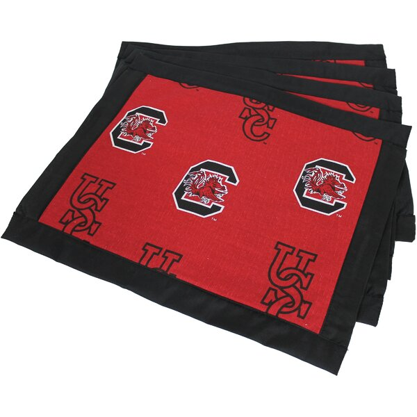 Border Placemat (Set of 4) by College Covers
