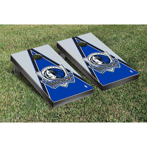 NBA Triangle Version Cornhole Game Set by Victory Tailgate