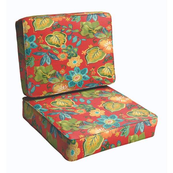 Hiawatha Beach Outdoor Chair Cushion by Bay Isle Home