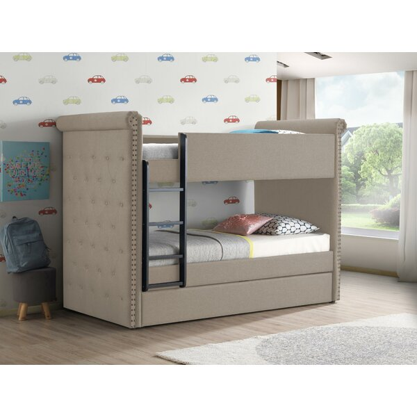 Stoehrs Twin over Twin Bunk Bed with Trundle by Harriet Bee