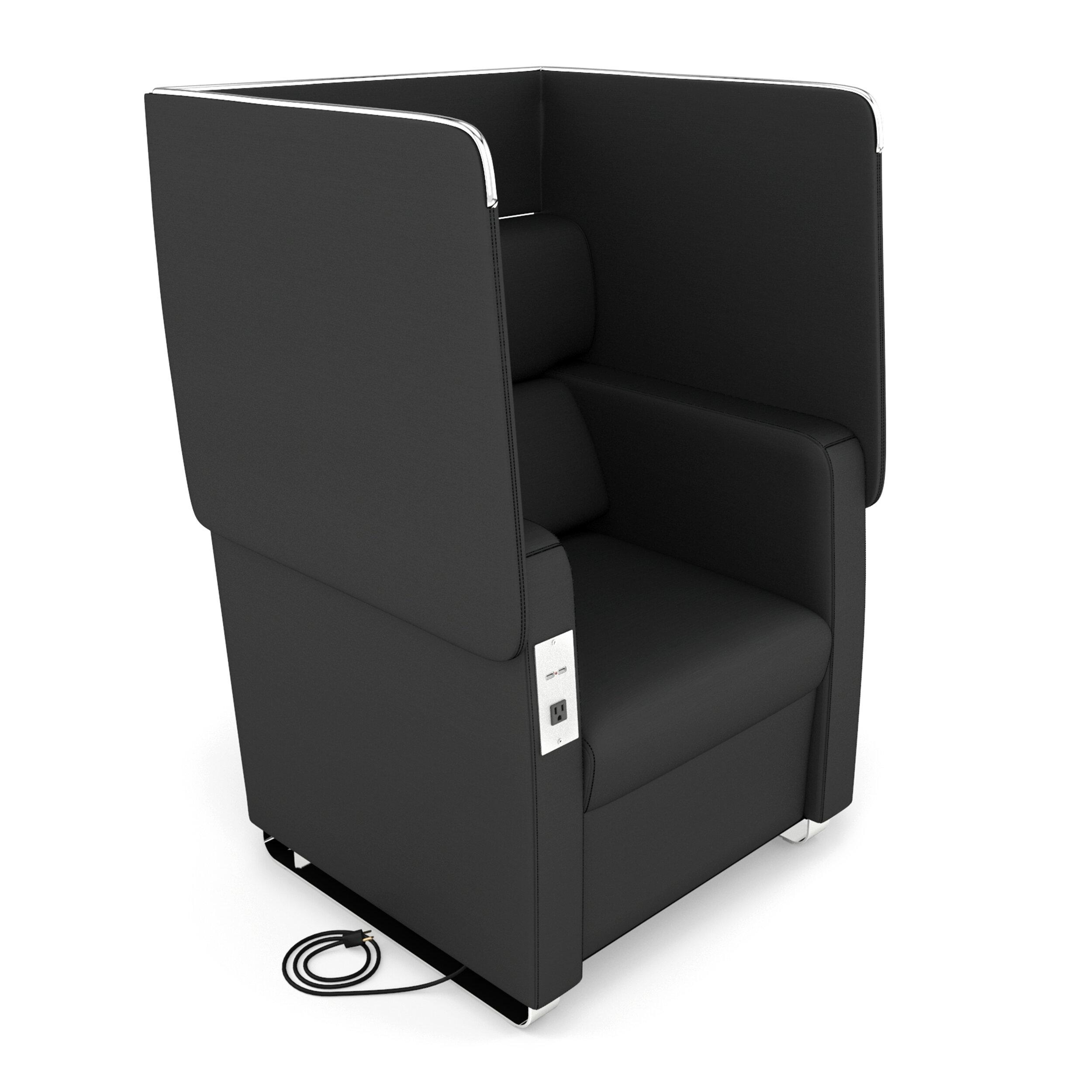 OFM Morph Series Soft Seating Convertible Chair | Wayfair