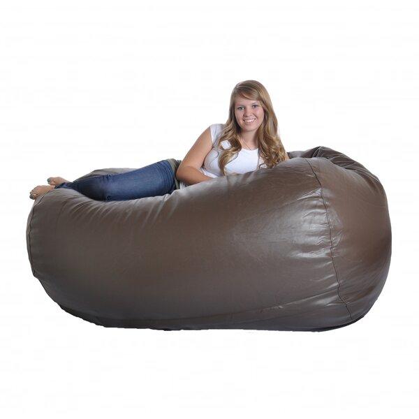 Faux Leather Bean Bag Sofa By Ebern Designs