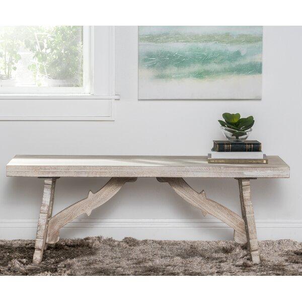 Elyn Wood Bench by One Allium Way