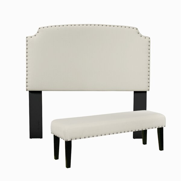 Almeida Upholstered Panel Headboard by Darby Home Co