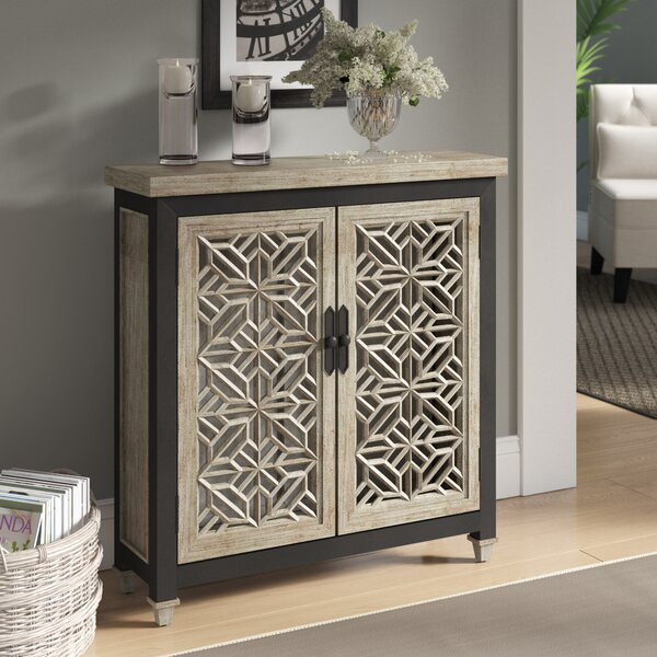 Baxter 2 Door Accent Cabinet by Bungalow Rose Bungalow Rose