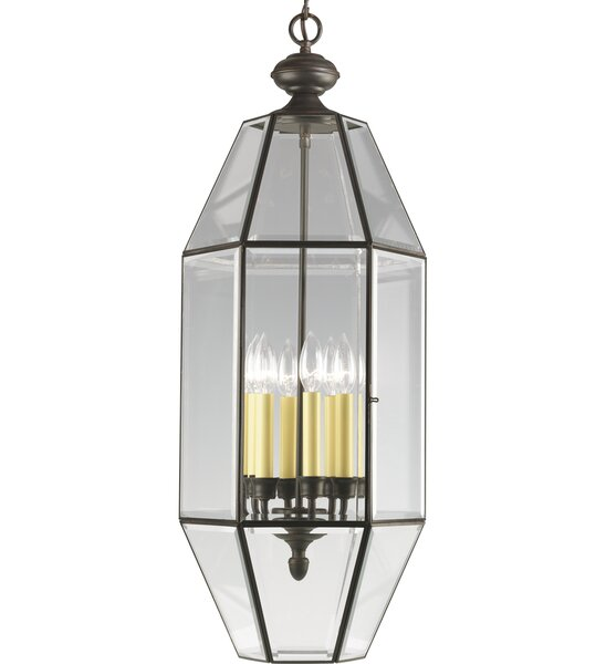 Manolla 6-Light Candle Style Geometric Chandelier by Charlton Home Charlton Home