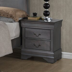 Labrecque 2 Drawer Nightstand by Laurel Foundry Modern Farmhouse