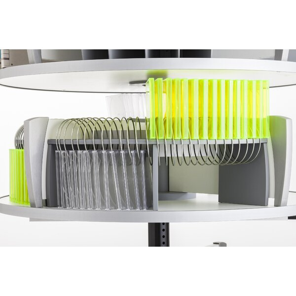 Multimedia Wire Rack Media Storage By WFX Utility