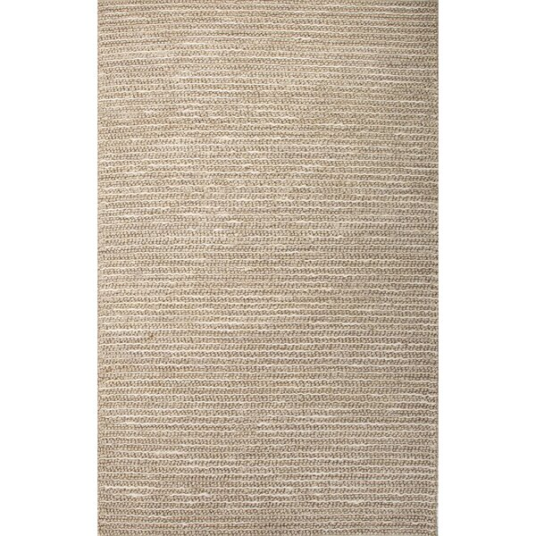 Reynoso Hand-Woven Brown Area Rug by Bay Isle Home