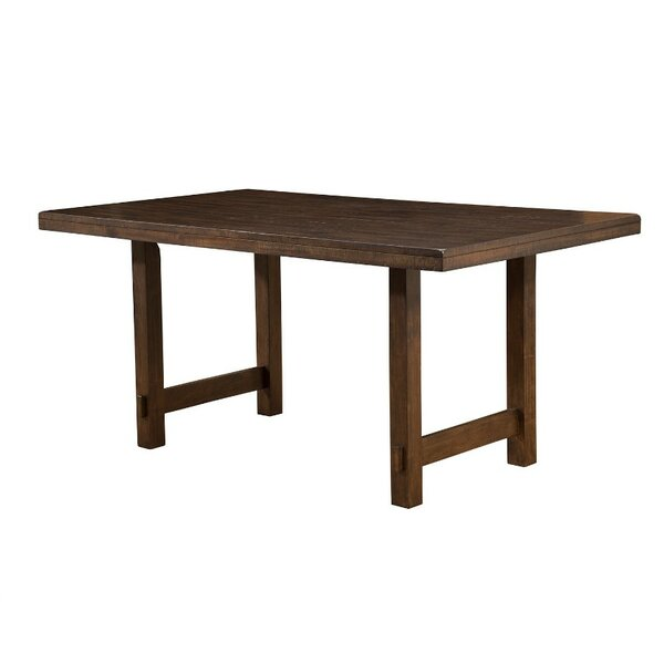 Wildermuth Wooden Dining Table by Millwood Pines