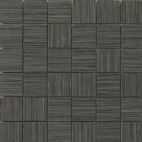 Strands 2 x 2/12 x 12 Porcelain Mosaic Tile in Twilight by Emser Tile