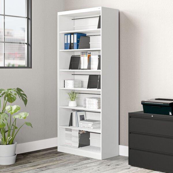 Open Fixed 7-Shelf Vertical Filing Cabinet
