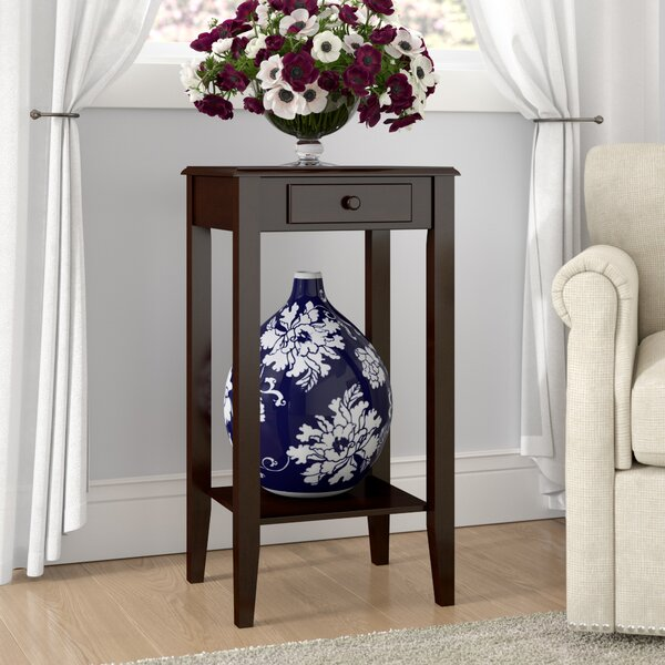 Lydia End Table By Charlton Home