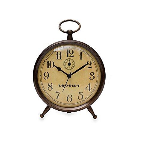 Vintage Finial Tabletop Clock by Crosley