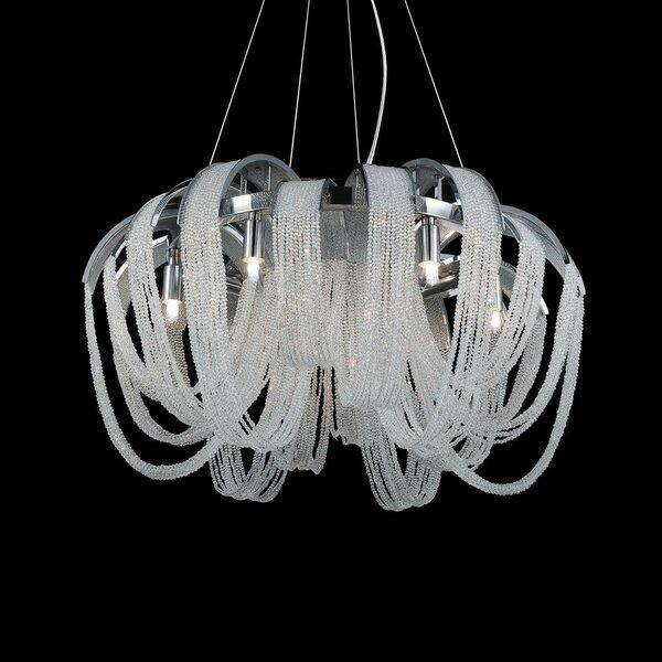 Bednarz 4 - Light Unique / Statement Geometric Chandelier By House Of Hampton