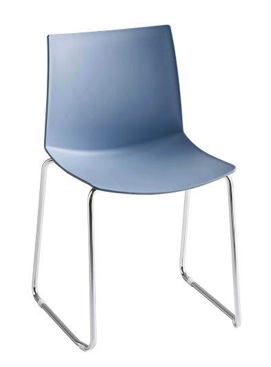 Kanvas Sled Base Guest Chair by Gordon International