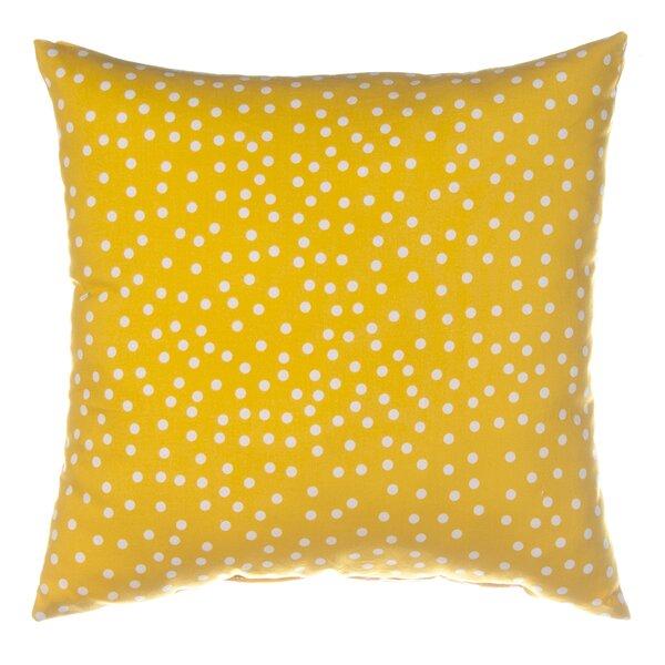 Traffic Jam Dot Throw Pillow by Sweet Potato by Glenna Jean