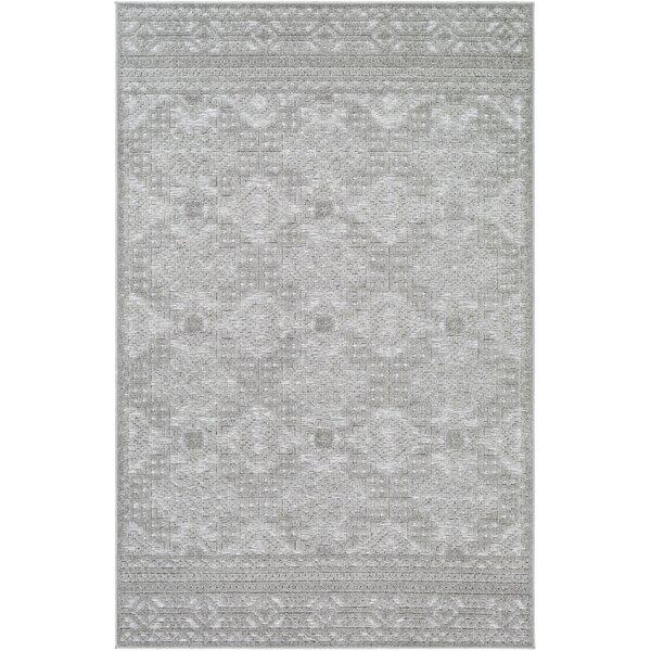 Absolon Southwestern Gray/Cream Indoor / Outdoor Area Rug
