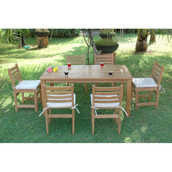 Montage 7 Piece Teak Dining Set by Anderson Teak