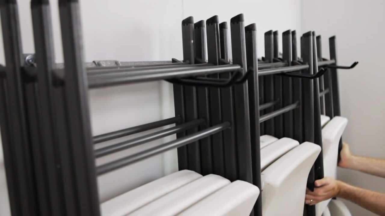 Monkey Bar Folding Chair Rack Amp Reviews Wayfair