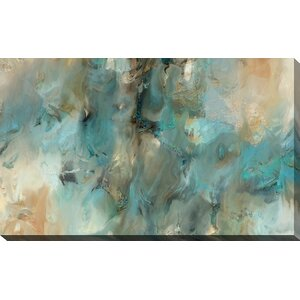 'Vital Intercession' Framed Painting Print on Canvas by Willa Arlo Interiors