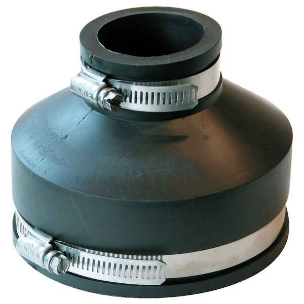 Flexible Coupling with Clamp by Fernco