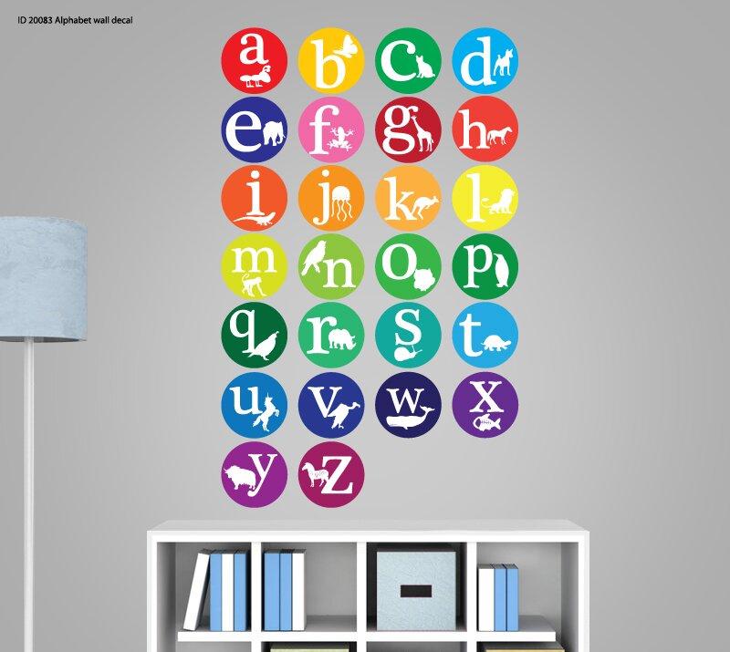 Wall Decal Source Abcs Animal Alphabet