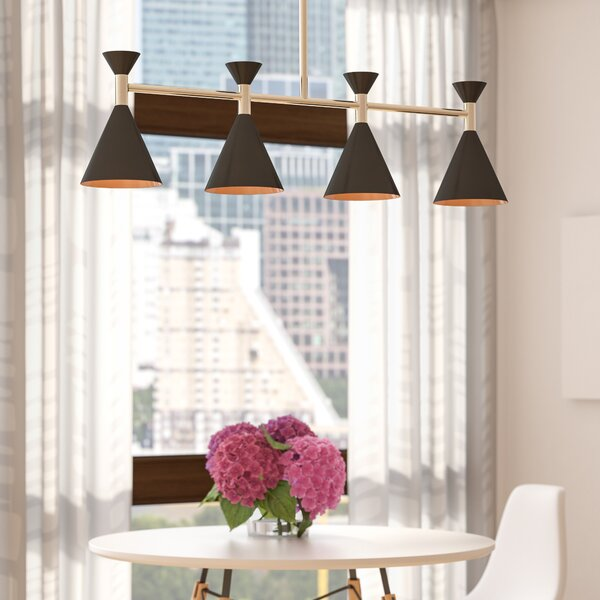 Yorba 4-Light Kitchen Island Pendant by Langley Street