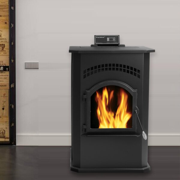 Smart 2,200 sq. ft. Direct Vent Pellet Stove by England's Stove Works