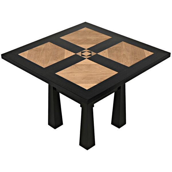 Marx Solid Wood Dining Table by Noir