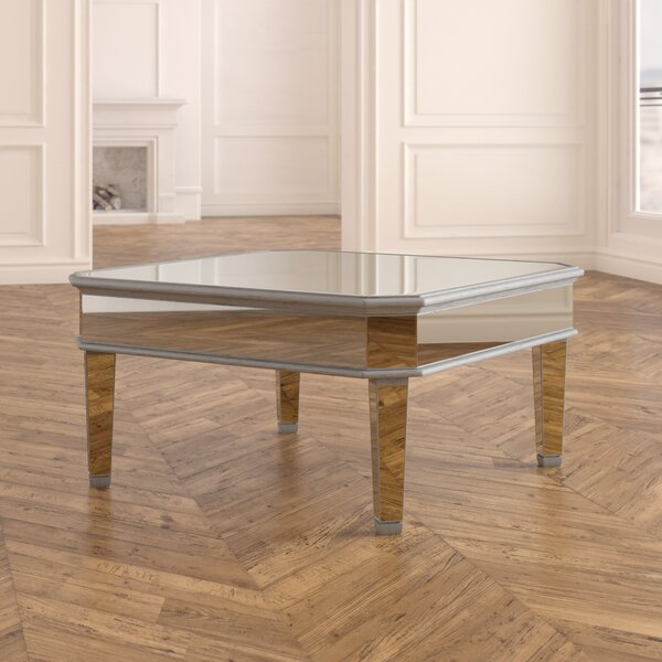 Orpha Glass Top Coffee Table by Rosdorf Park